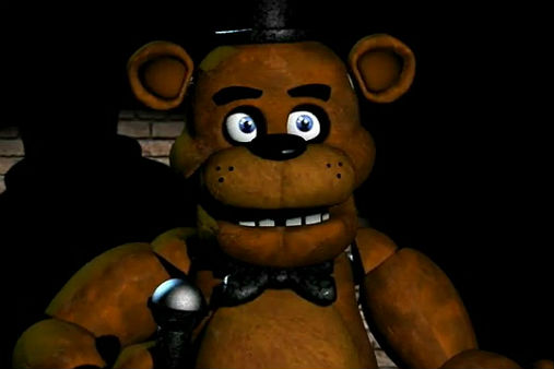 A device that can respond using AI-like tech and can record things around it? What could go wrong? Photo from the game Five Nights at Freddy